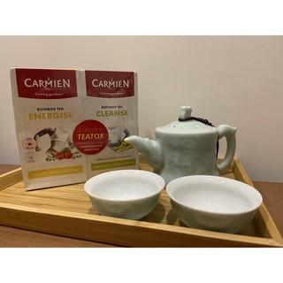 福利品 早晨精力茶及晚上順暢茶 Carmién南非博士茶 國寶茶 低卡 無糖 新北市