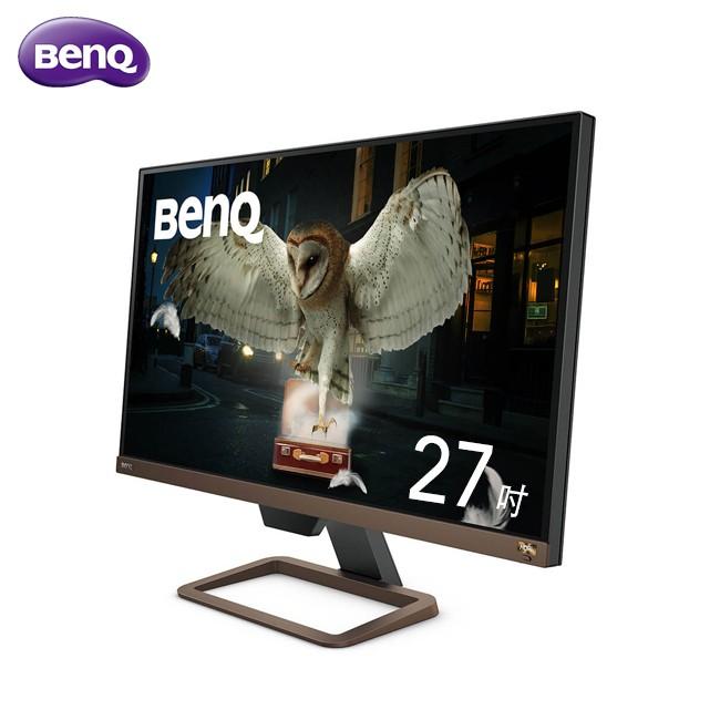 BenQ 27吋 UHD EW2780U IPS LED 類瞳孔娛樂護眼 螢幕【免運公司貨】