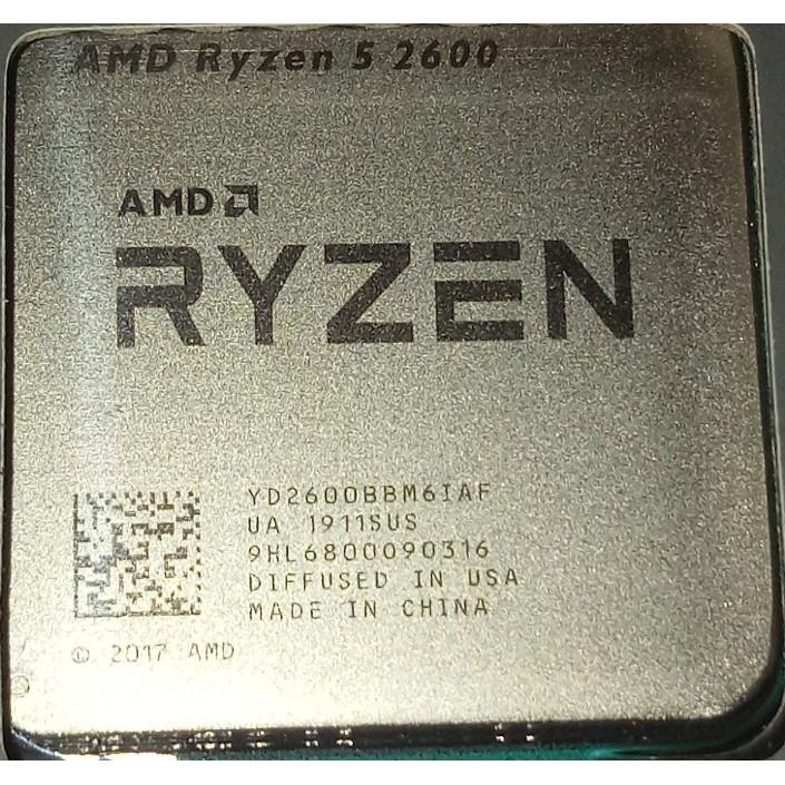 """""""現貨"""" r5 2600 r7 2700 r7 2700X  AMD Ryzen 5 2600 Ryzen 7 2700"""