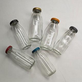 《興富大行餐具》瓶瓶罐罐【台灣製造竹臨瓶200cc.上禾瓶300cc】牛奶瓶玻璃瓶果汁瓶飲料瓶水瓶咖啡瓶 新北市