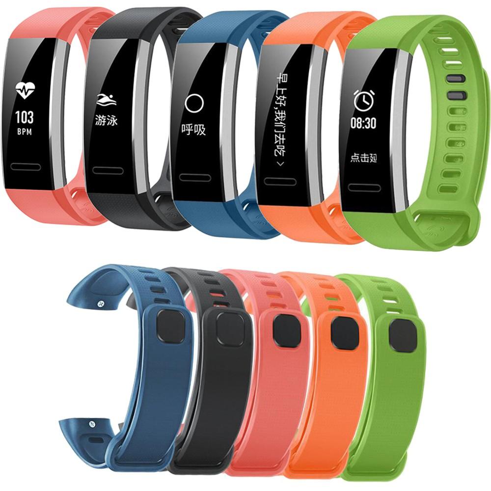 華為 適用於 Huawei Band 2 / Band 2 Pro 手錶帶矽膠錶帶運動腕帶更換