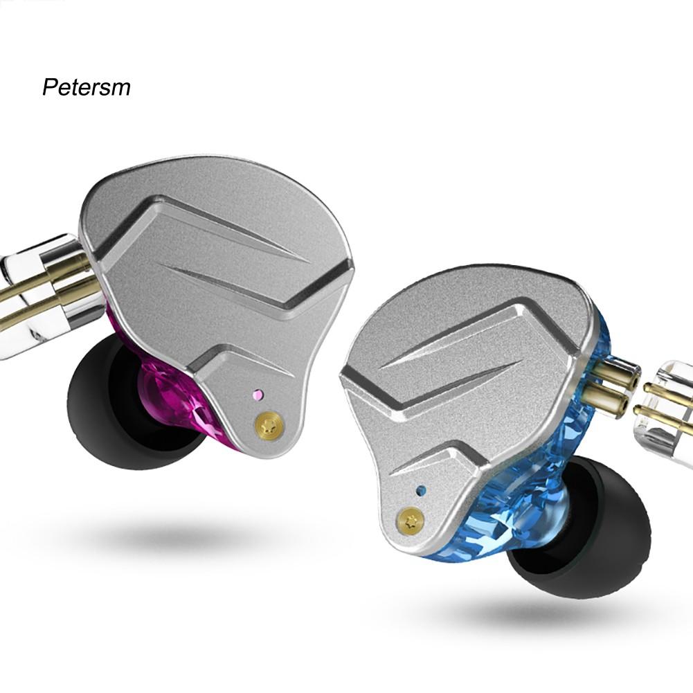 PST * KZ-ZSNpro雙動態2針插頭耳鉤入耳式立體聲音樂有線耳機