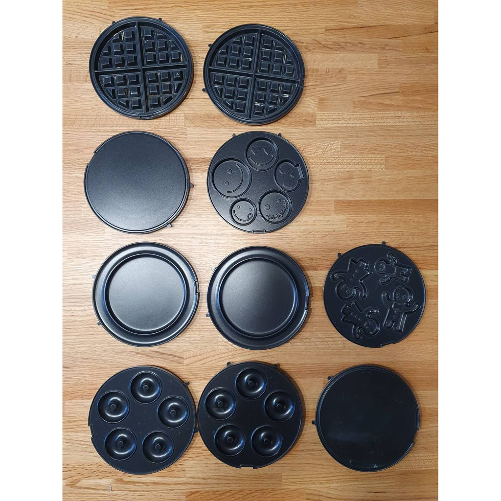 Recolte麗克特 微笑鬆餅機 二手造型烤盤出清