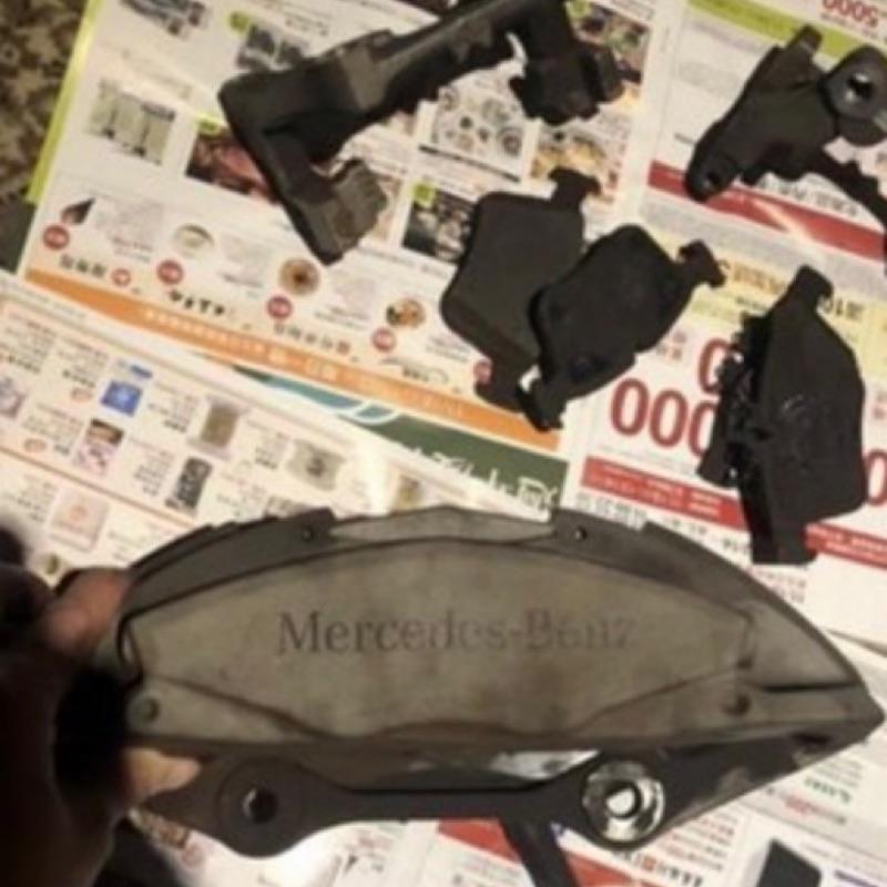 AMG w205 卡鉗 碟盤 來令片(二手