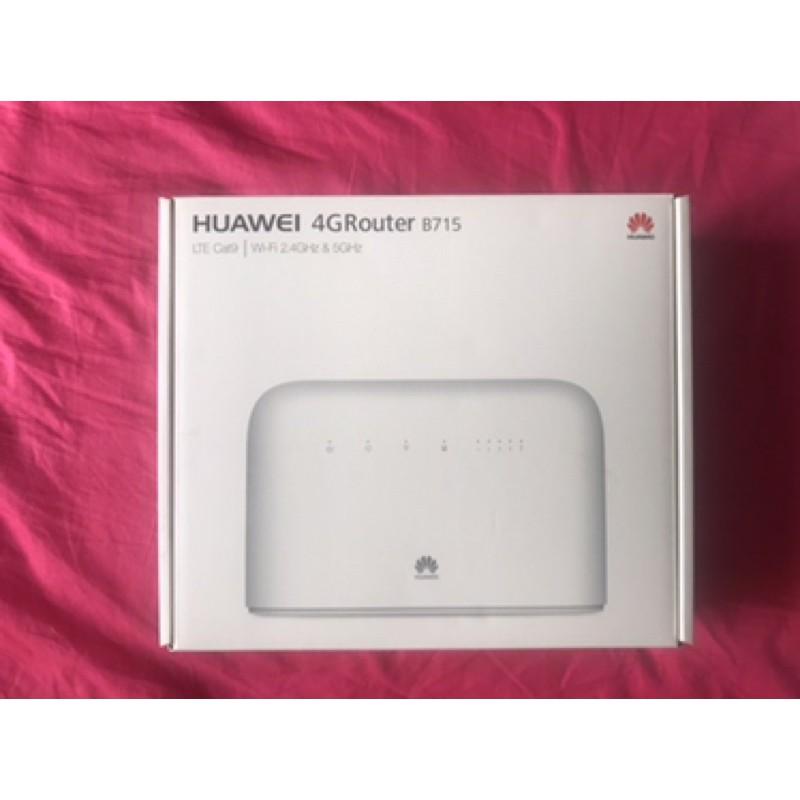 免運現貨~二手未使用新品HUAWEI 華為 B715 無線路由器4G網路分享器