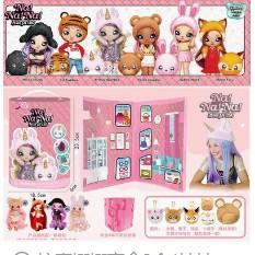 惊喜娜娜盲盒2合1娃娃nanana迷糊盲盒芭比娃娃爆款公主过家家儿童玩具