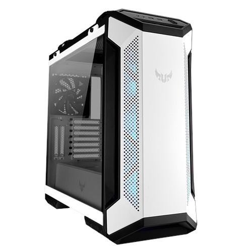 ASUS 華碩 TUF Gaming GT501 White Edition 玻璃透側機殼-白色限量版