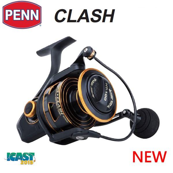 【【版主釣具】】 ABU PENN Clash CLA3000/4000/5000/6000/8000型 紡車捲線