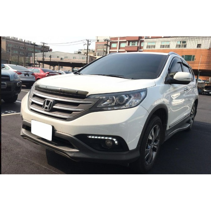 Honda 本田 CR-V 2012 白 雙證件貸款/可全額貸/信用瑕疵/ 有前科/多次二手件/八大行業 照單全收