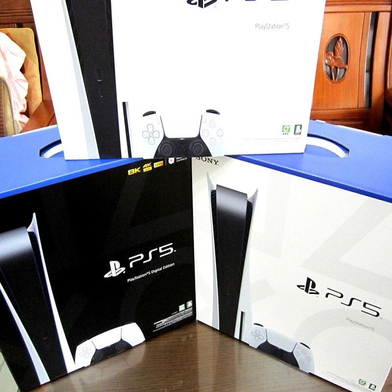 【9/24現貨】全新 SONY PS5主機 光碟版主機 數位版主機 台灣公司貨一年保固 PlayStation 5
