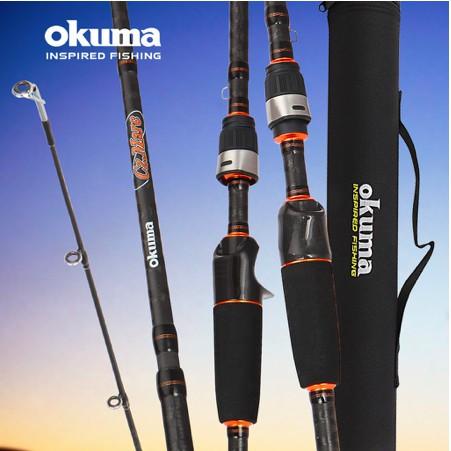 【阿嬤釣具】 OKUMA 寶熊 瘋馬克 2代 TRAVEL遠征版 槍柄/直柄 路亞竿 偷跑竿 路亞 岸拋鐵板 釣魚 釣竿
