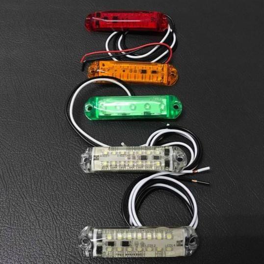 Ko Ma 24V 14粒LED 邊燈 大燈 後燈 角燈 方向燈 屋頂燈 標識燈 遊覽車 巴士 公車 貨車 吊車 拖吊車