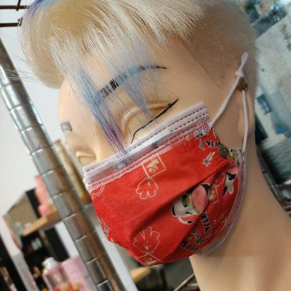 任宇x 芯宸防塵平面口罩 防病菌防塵口罩 防飛沫防疫口罩 MIT製造