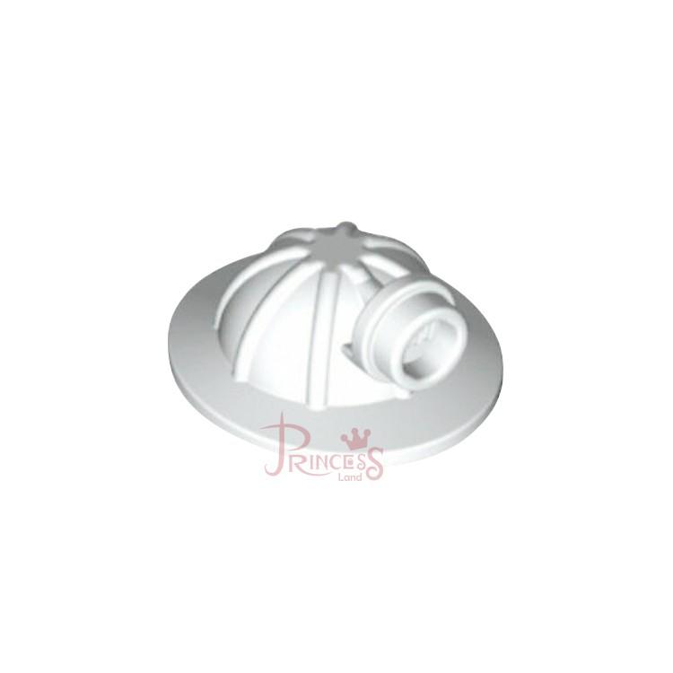 公主樂糕殿 LEGO 60204 60188 工地帽 工人帽 頭盔 白色 98289 A252
