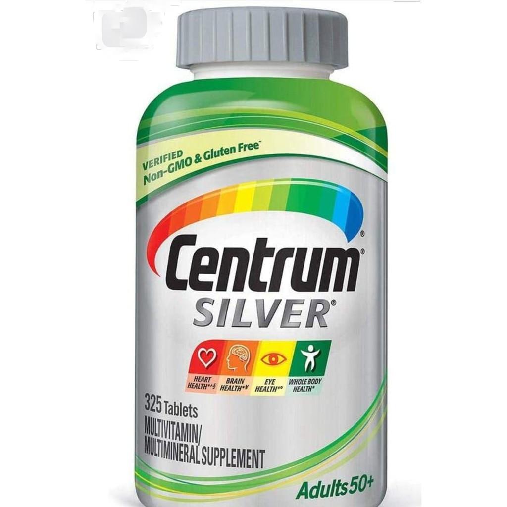🔆代購 Centrum Silver 50+ 銀寶善存綜合維他命 (325顆)🔆2022/02