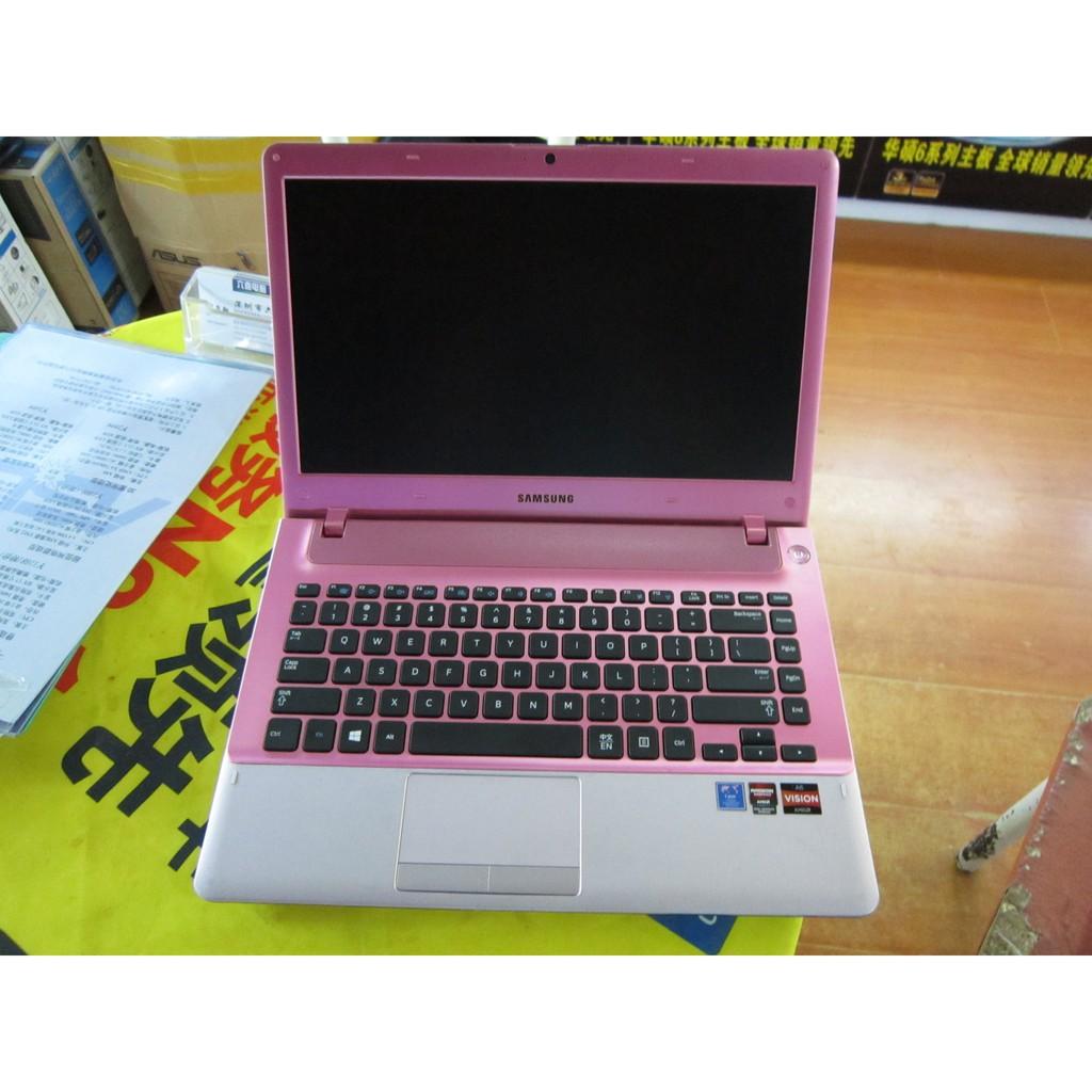 福利機 三星355V4X二手筆記型電腦A6-4400 4G 500G獨顯2G HD7670粉色