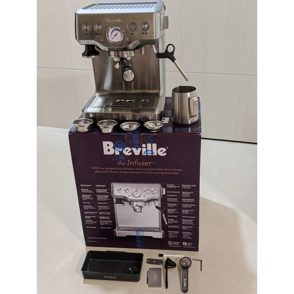 Breville 義式咖啡機 BES840XL the Infuser™