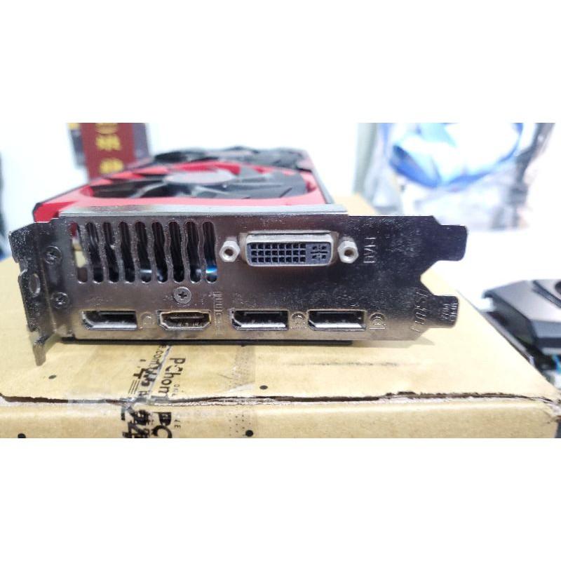 微星GTX960 4G顯示卡 二手無保固