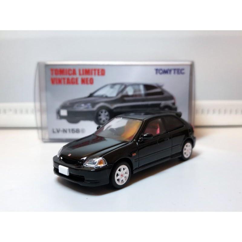 Tomytec TLV LVN158c Honda Civic Type R EK9 97年式 前期型 黑