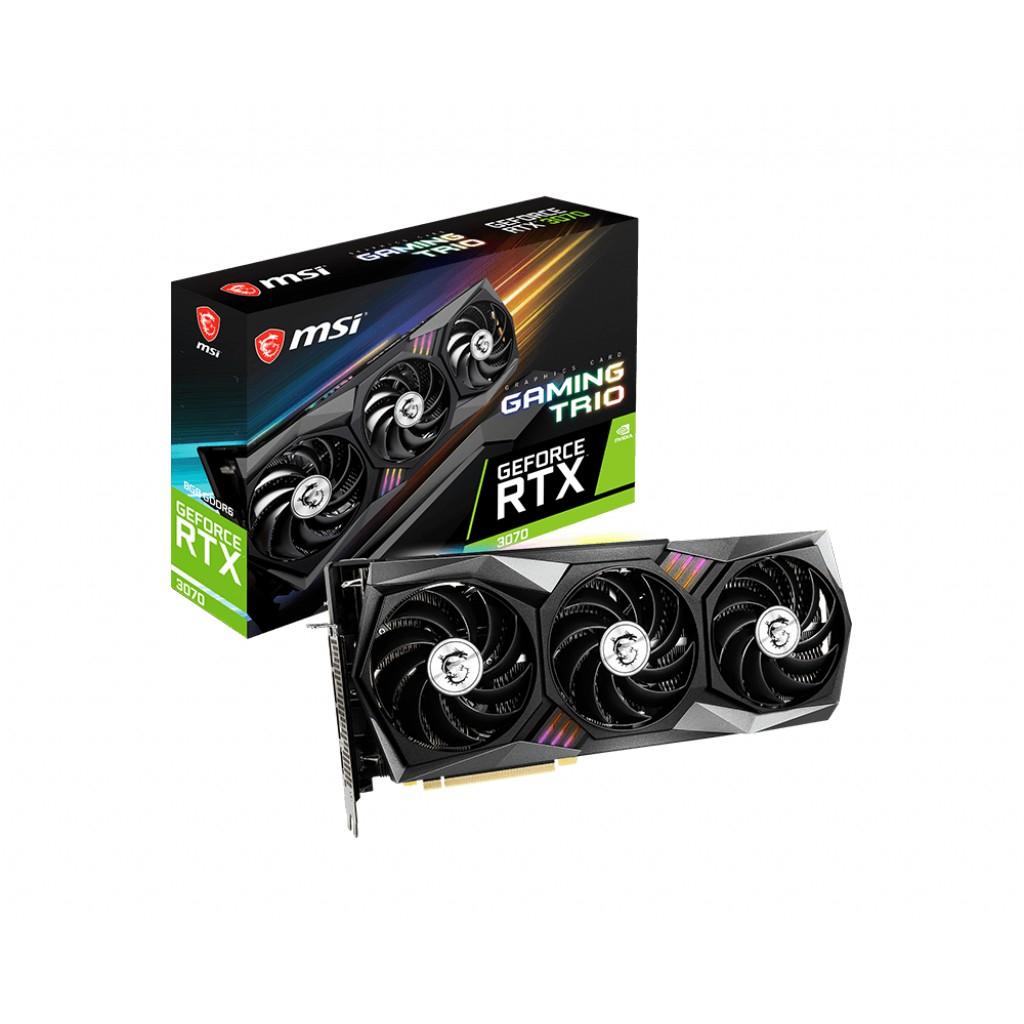 MSI RTX 2080 Ti、 3070 GAMING X TRIO