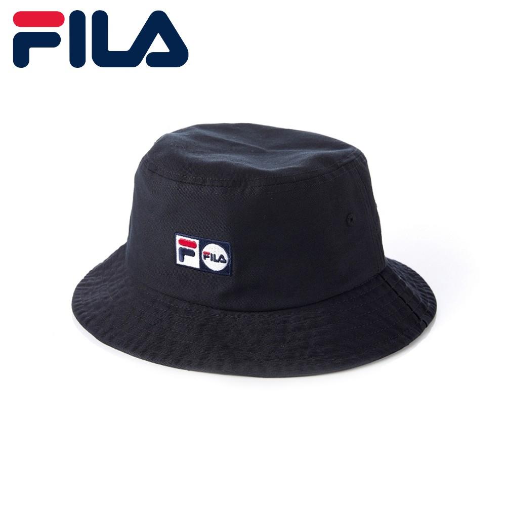 FILA 時尚 筒帽 漁夫帽 / HTU-5210-BK / 運動達人