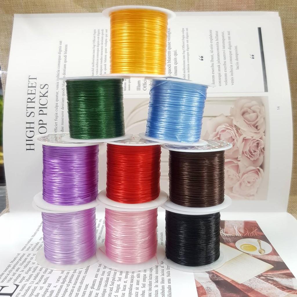 ✨10米 日本蠶絲彈性線、水晶線、飾品手鍊、手珠鈦排DIY線  韌性超強 不易斷裂❤️❤️