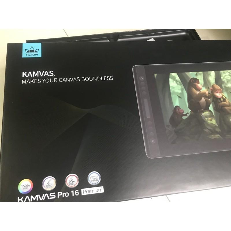 繪王 HUION KAMVAS PRO 16吋 二手 繪圖螢幕