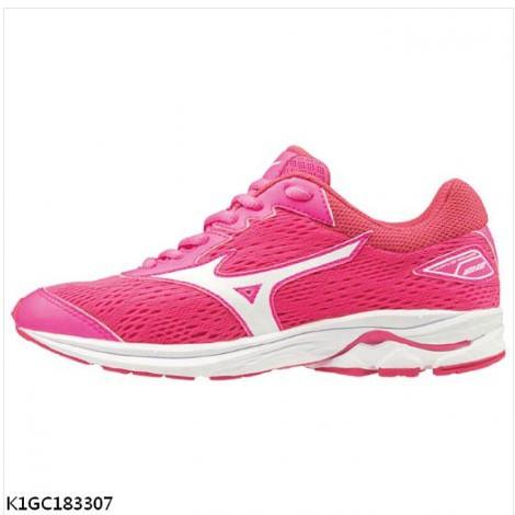 [爾東體育] MIZUNO WAVE RIDER 22 JR 大童鞋 K1GC183307 運動鞋 休閒鞋 慢跑球