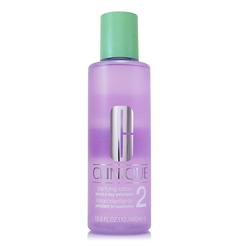 CLINIQUE倩碧 三步驟溫和潔膚水2號400ml (正統公司貨)