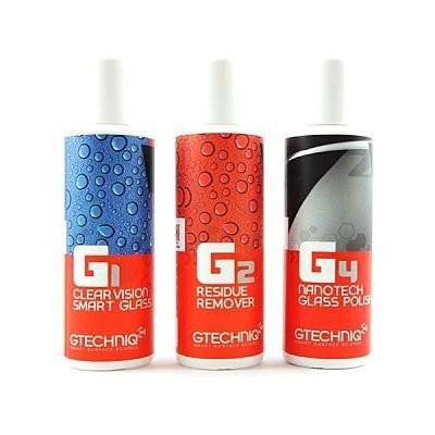 英國 GTechniq G1+G2+G4 Kit 100ml (GT 專業版玻璃鍍膜套組) 鍍膜維護 好蠟總代理