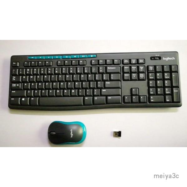 【免運速發】羅技MK275無線鍵盤滑鼠套裝 K275無線鍵盤+M185無線滑鼠+接收器