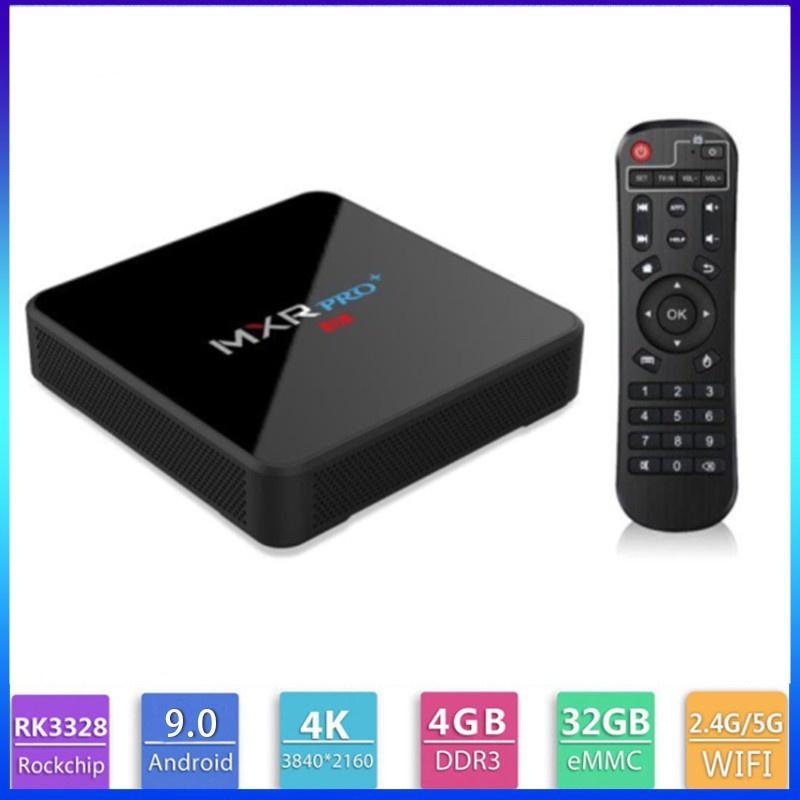 MX10 PRO高清電視盒 雙頻WIFI 4K 安卓9.0藍芽4.0tv box 電視盒 機頂盒 機上盒 網絡數位電視