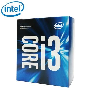 英特爾 Intel Core i3 7100 I5 7400 中央處理器(盒裝)