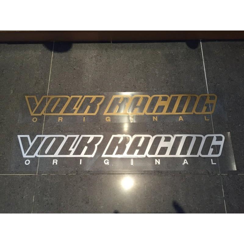 RAYS VOLK RACING 前檔貼 RE30 TE37 TE37SL CE28N  G27 G25 G16