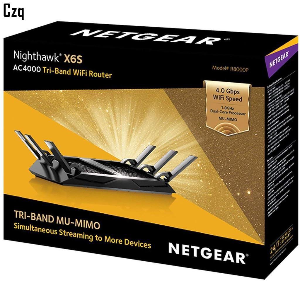 【WoW世界代購】Netgear夜鷹 X6S Nighthawk R8000P AC4000 智能MU-MIMO