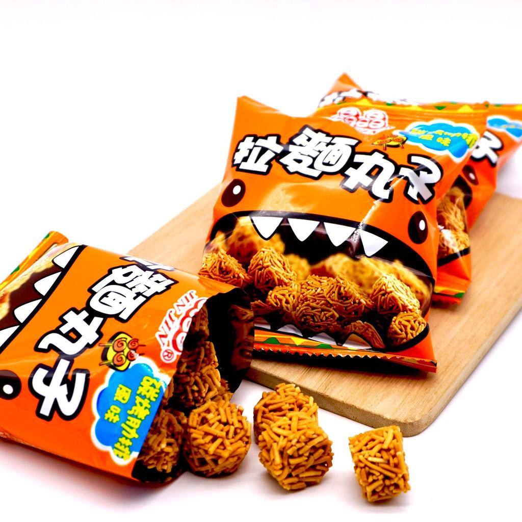 【嘴甜甜】拉麵丸子-碳烤肋排 1包 餅乾系列 3種口味 純素