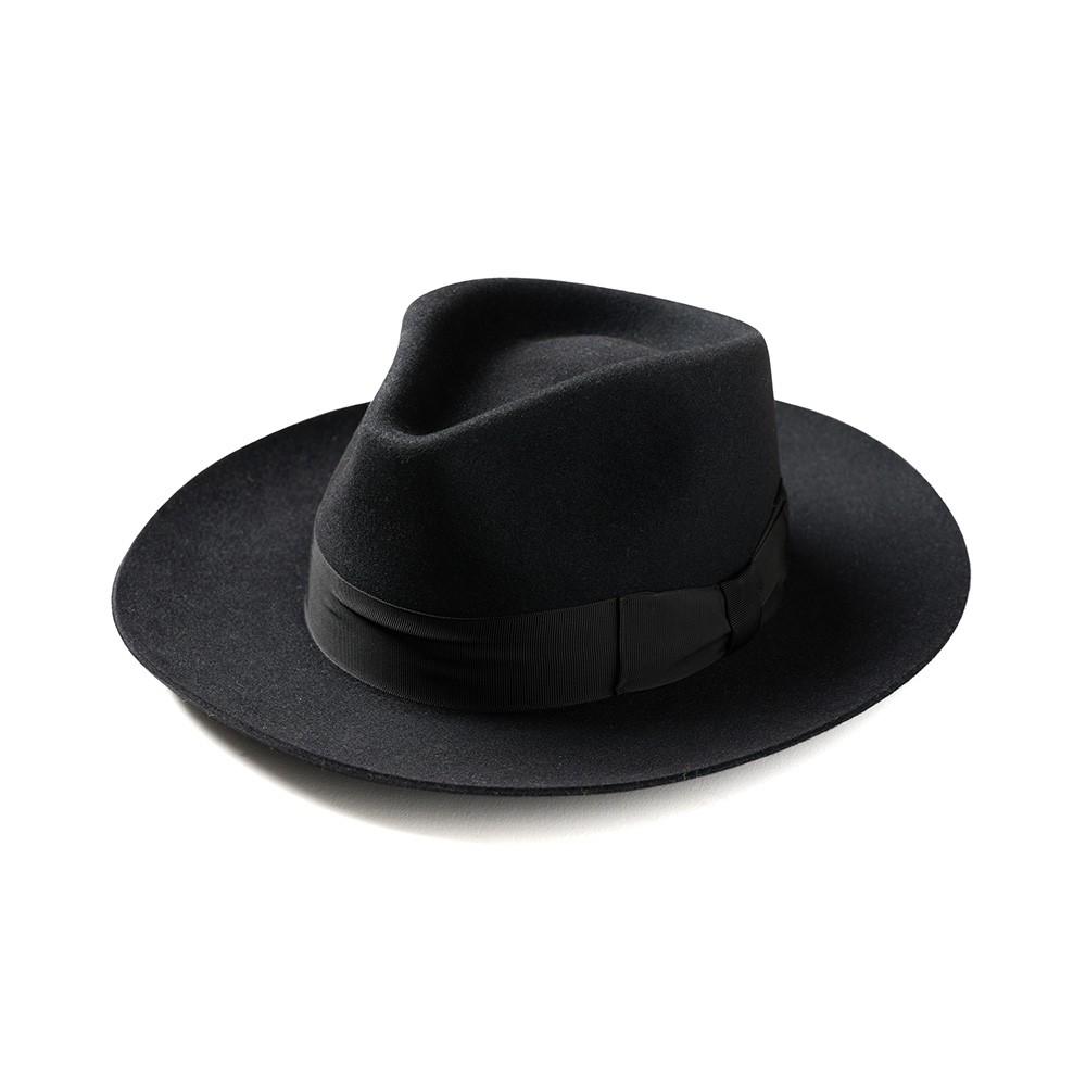 """Retrodandy - """" Fedora Hat """" - 黑色 Black"""