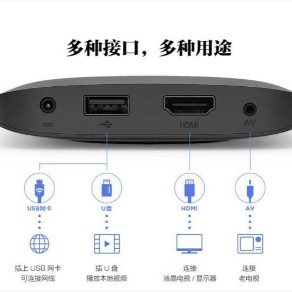【新款熱賣】小米盒子3代3c3s增強版海外越獄加強破解版4k電視WiFi