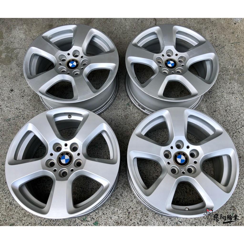 二手/中古鋁圈 BMW E61 17吋 5孔120 原廠 銀 E36 E46 E87 F20 X1 X3 E90 F30