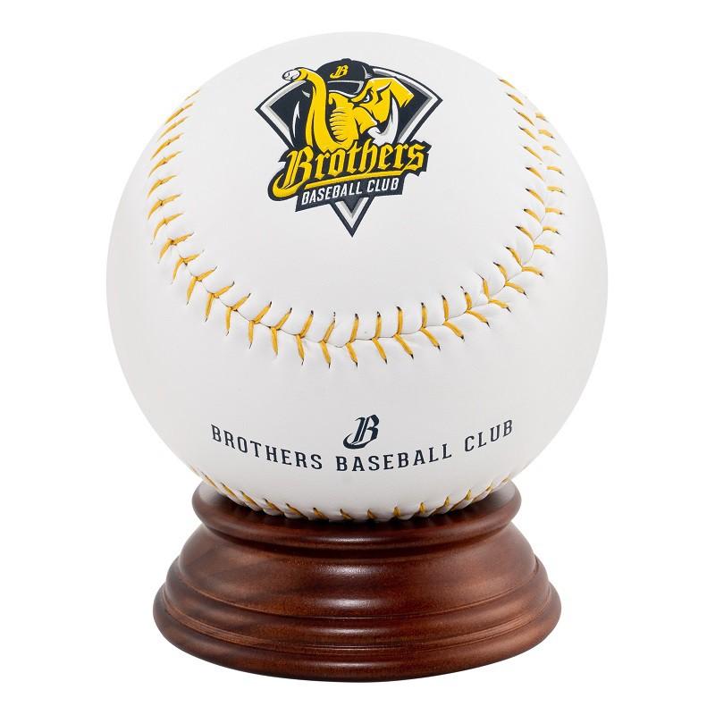 中信兄弟 猛象隊徽簽名大球 兄弟象 黃色力量紀念球 棒球 簽名球 猛象 大棒球 空白球