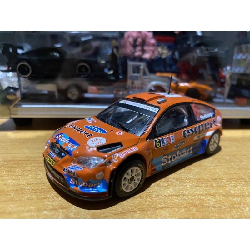 1/43 1:43 Ford Focus wrc 福特 福克斯 合金小汽車 模型車 兒童玩具