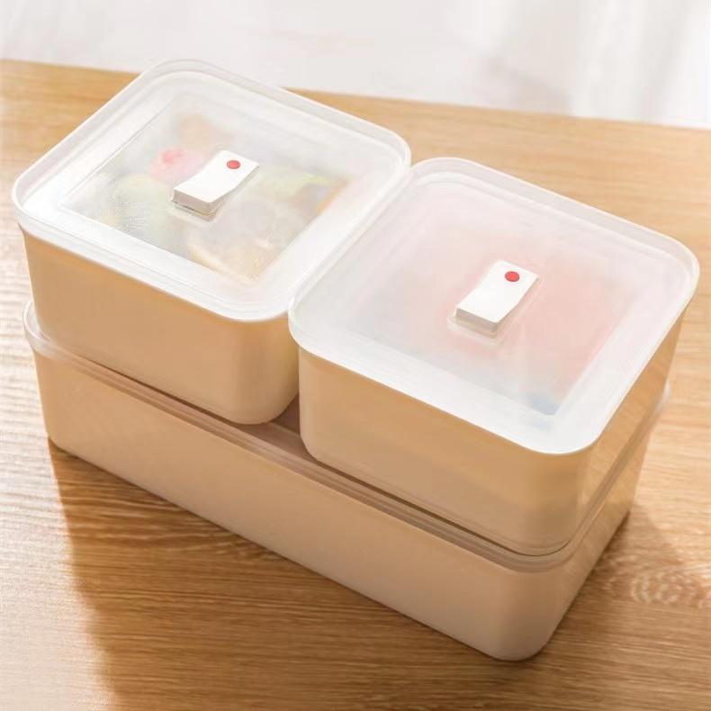 日本製 薄型保鮮盒 薄型收納盒 冰箱收納 食物分裝 分裝收納 食物收納 冷凍保鮮盒 日本主婦 好市多分裝