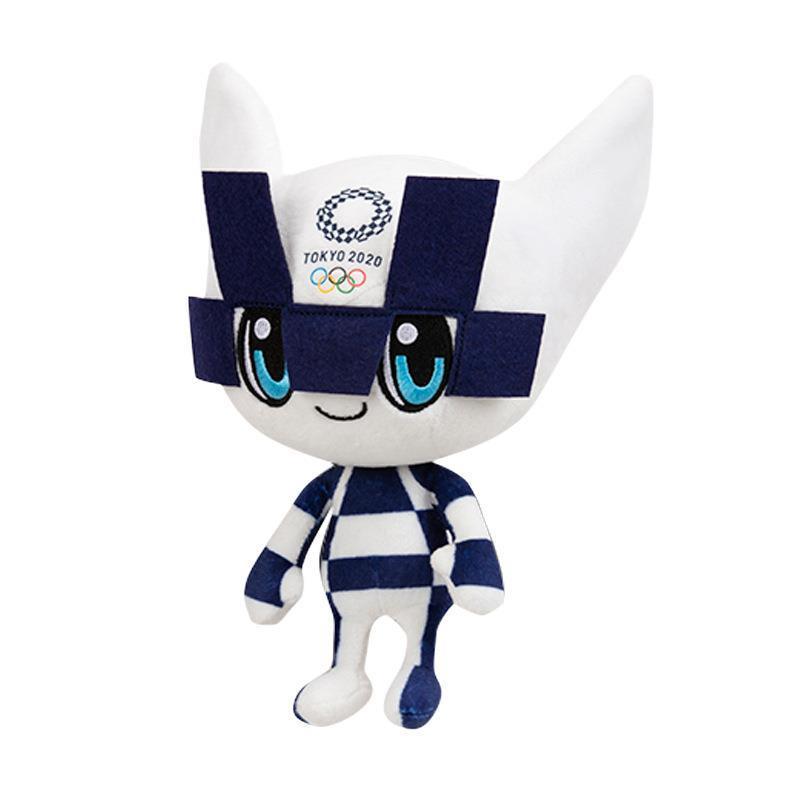 【2020東京奧運會 吉祥物 娃娃】2020東京奧運會吉祥物毛絨玩具公仔miraitowa日本體育紀念品娃娃