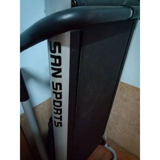 San sport 摺疊跑步機,二手,顯示器壞了可以跑走