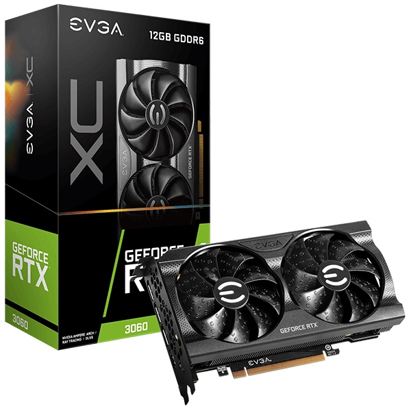 EVGA GeForce RTX 3060 XC GAMING, 12G-P5-3657-KR