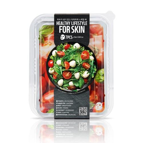 FARM SKIN沙拉面膜7片裝-番茄/酪梨