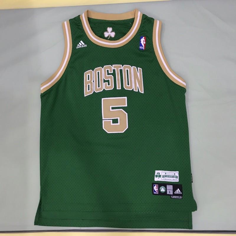 二手YL Adidas 聖派翠克 波士頓塞爾提克 狼王 Kevin Garnett 電繡