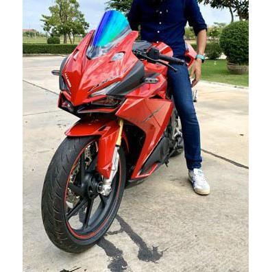 Moto橘皮 CBR250RR 風鏡 加高風鏡 電鍍 燻黑 碳纖維 cbr650r cbr150r cbr500r