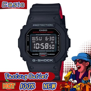卡西歐CASIO 方塊G-SHOCK 運動錶 學生電子手錶 防水男士手錶 手錶男 聯名限量 金屬方塊錶余文樂同款 情侶錶