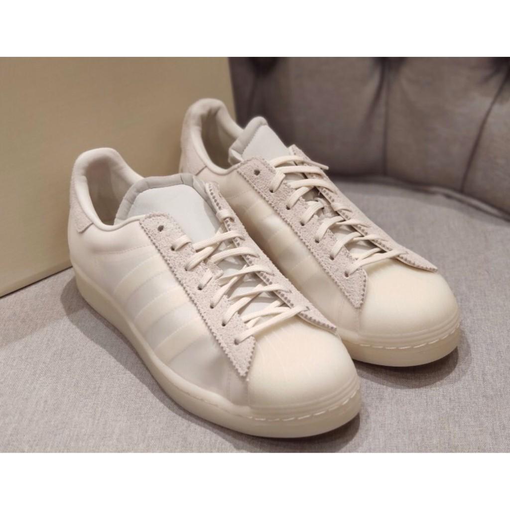 Eason × adidas originals Superstar 白色 慢跑鞋 男女 fx8116